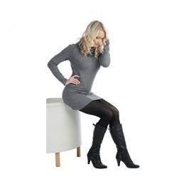 Evona Elastické černé dámské punčochové kalhoty Star 512047-999, 164-108