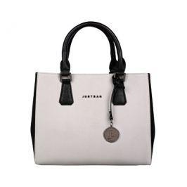 Justbag Dámská kabelka Grey/Black YF1708-784