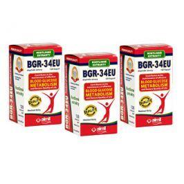 Aimil Pharmaceuticals BGR-34EU 120 kapslí 2+1 ZDARMA