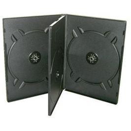 COVER IT OEM Krabička na 4 DVD černá
