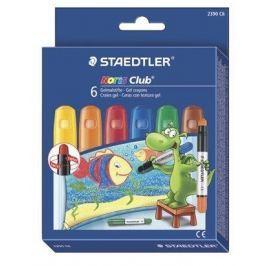 STAEDTLER Voskovky Noris Club, 6 barev, gelové,