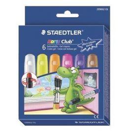 STAEDTLER Voskovky Noris Club, 6 pastelových barev, gelové,