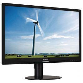 Philips LCD-LED 241S4LCB 24'' wide, 5ms, DC20mil.:1, FHD, DVI, HAS, pivot, č