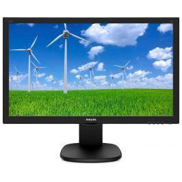 Philips Monitor  243S5LJMB, 24inch FullHD, panel TN, DVI/D-Sub/HDMI/DP, speakers