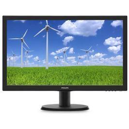 "Philips LCD 243V5LHAB5 23,6""wide/1920x1080/1ms/10mil:1/250cd/VGA/DVI/HDMI/repro/"