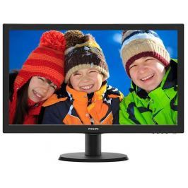 Philips Monitor  243V5LHSB5/00, 24inch, TN, Full HD, DVI, D-Sub, HDMI
