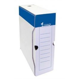 VICTORIA Archivační krabice, bílá, karton, A4, 100 mm,