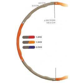 Sedco Kruh hula hop ring  WAVE 0,75 kg