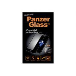 PANZERGLASS_4411 PANZER GLASS PanzerGlass iPhone 6/6s/7 JetBlack/Black Premium, PanzerGlassiPhone6/6s/7Jet/Bla