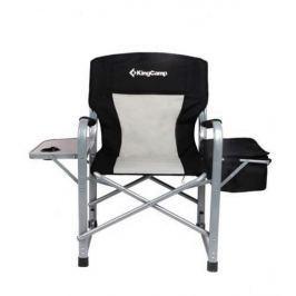 KING CAMP Campingová skládací židle s opěrkami Director Deluxe