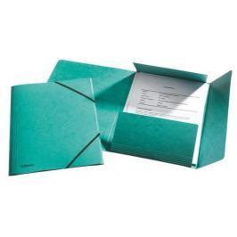 ESSELTE Prešpánové desky na spisy, Rainbow, zelená, A4, 15 mm, prešpánový karton, ESSE