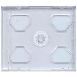 COVER IT box jewel + tray/ plastový obal na 2 CD/ 10mm/ čirý/ 10pack
