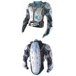 IXS M-L - BATTLE JACKET EVO LADY oblek, chránič páteře, těla, rukou
