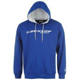 Dunlop Promo mikina  s kapucí, XL, Modrá