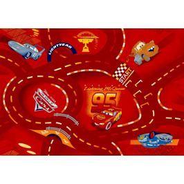 Dětský koberec The World of Cars 10, 200 x 200 cm kruh