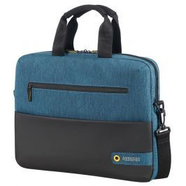 SAMSONITE Bag American Tourister 28G19003 CD 14,1'' comp, doc, tblt, pock, blk/blue