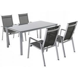Garland - nábytek Garland Elements 4+ sestava nábytku (1x stůl Elements Creatop-Lite + 4x stoh. židle Elements)