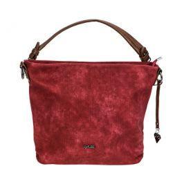 LYLEE Elegantní kabelka Fleurette Hobo Bag Red