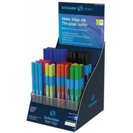 SCHNEIDER Kuličkové pero Slider Edge XB, displej, různé barvy, 0,7 mm, s víčkem, SCHNEID