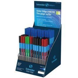 SCHNEIDER Kuličkové pero Slider Edge, displej, různé šířky stop, s víčkem,
