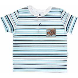 Mamatti Polo tričko krátký rukáv  - Tuleň proužek, 86 (12-18m)