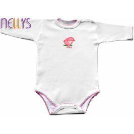 Baby Nellys Body dl. rukáv - Ovečka, 92 (18-24m)