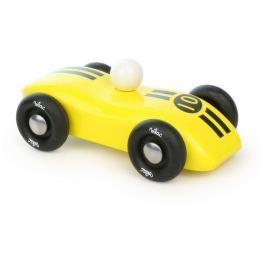 Vilac dřevěné závodní auto žluté