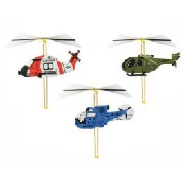 Vilac stavebnice vrtulníku s natahovací vrtulí 1 ks bílá