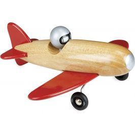 Vilac dřevěné letadlo červené