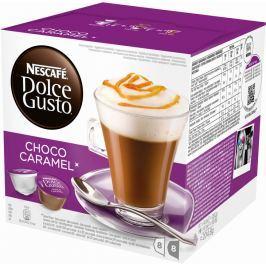Nescafé Kapsle NESCAFÉ Choco Caramel 16 ks Dolce Gusto