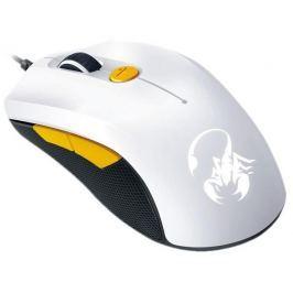 Genius Mouse  Scorpion M6-600, white+orange