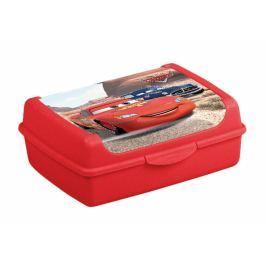Keeeper Svačinkový box Cars  1 l - červený