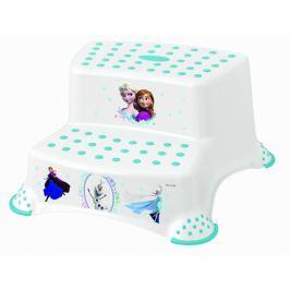 Keeeper Stolička - schůdky s protiskluzovou funkcí - Frozen - bílá