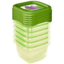 Keeeper Sada plastových krabiček Hippo 0,1l - 6 ks