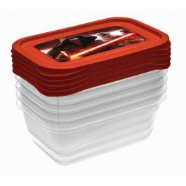 Keeeper Sada plastových krabiček Star Wars 0,5l - 5 ks