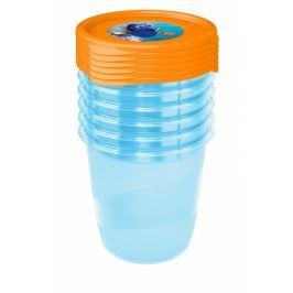 Keeeper Sada plastových krabiček Hledá se Dory 0,35l - 6 ks