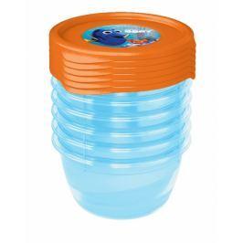 Keeeper Sada plastových krabiček Hledá se Dory 0,5l - 5 ks