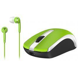 GENIUS Set myš a sluchátka  RS,MH-8100,Green