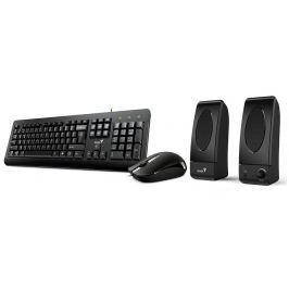 GENIUS KMS U130/ Kancelářský set klávesnice, myš a reproduktory
