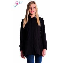 Be MaaMaa Těhotenská softshellová bunda,kabátek - černá, M