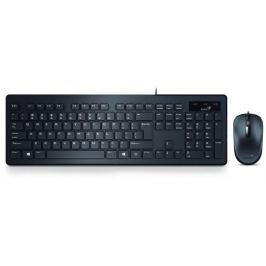 GENIUS SlimStar C130, drátová sada klávesnice a myši, USB, CZ+SK