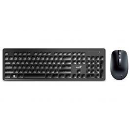 GENIUS Slimstar 8006/ Bezdrátový set 2,4GHz mini receiver/ USB/ černá/ CZ+SK lay