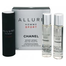 Chanel Allure Homme Sport - EDT (3 x 20 ml) 60 ml, 60 ml