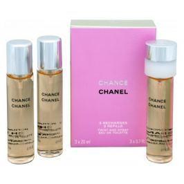 Chanel Chance - EDT - náplň (3 x 20 ml), 60 ml