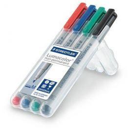 STAEDTLER Ne-permanentní popisovač Lumocolor 315 M, sada, 4 barvy, OHP, 1 mm,