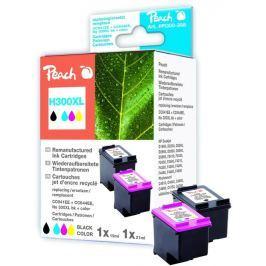 Peach Inkoust  CC641EE, CC644EE No.300XL Combi Pack kompatibilní černý + barevný