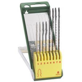 Bosch Sada  8 dílná kazeta pilových plátků na dřevo/kov/plast (T-stopka)