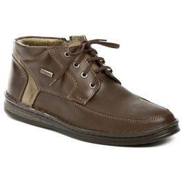 Bukat 239 hnědé pánské zimní boty, 43