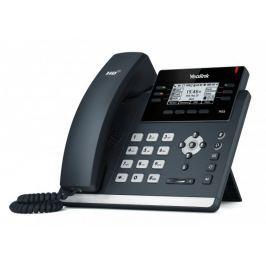 "WELL Yealink SIP-T42S IP tel., PoE, 2,7"" 192x64 LCD, 15 prog.tl., GigE"