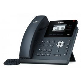 "YEALINK T40G IP tel., PoE, 2,3"" 132x64 LCD, 3 prog.tl., GigE"